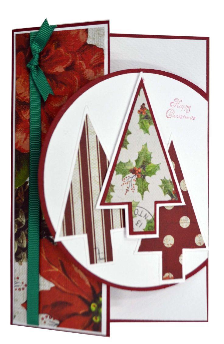 Three Trees Christmas Card