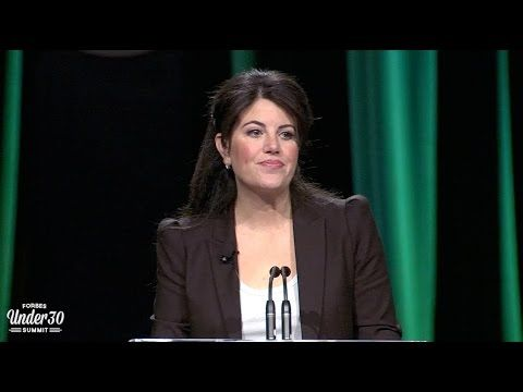 Monica Lewinsky Gives Her First Public Speech In 16 Years And Says Exactly What Needs To Be Said