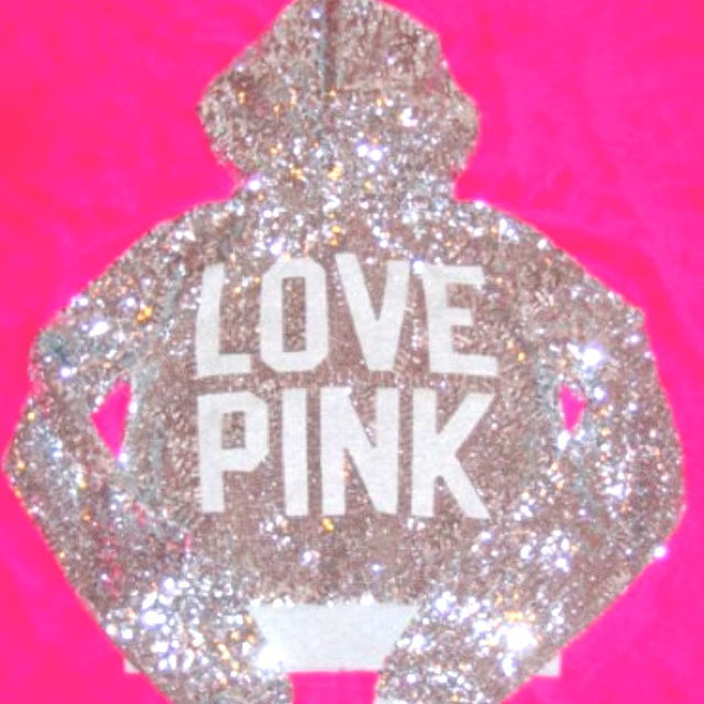 Victoriasecret, Fashion, Victoria Secret Pink, Hoodie, Style, Clothing, Secretpink, Sparkle, Glitter
