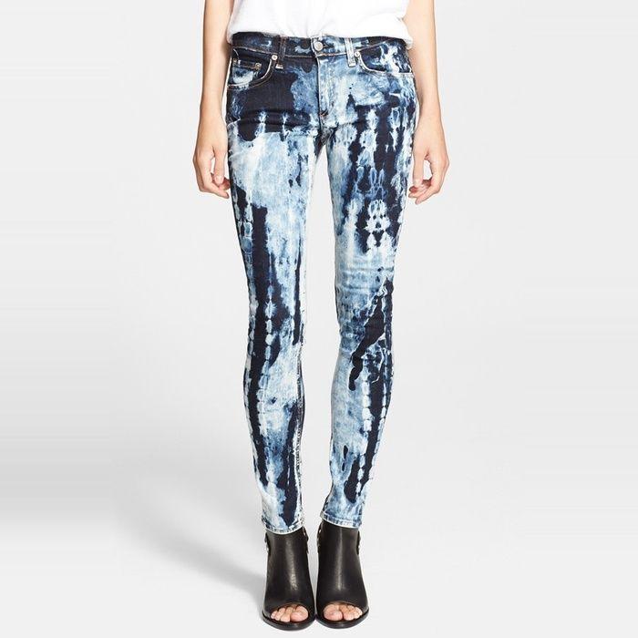 Rank & Style - rag & bone/JEAN The Skinny Jeans in Rivera #rankandstyle