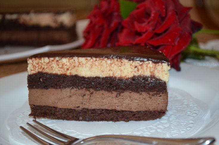 """Не знаю, делал кто-нибудь уже этот французский торт """"Задушевность"""" с сайта koolinar.ru от Кыш, а я уже попробовала... И хочу сказа..."""