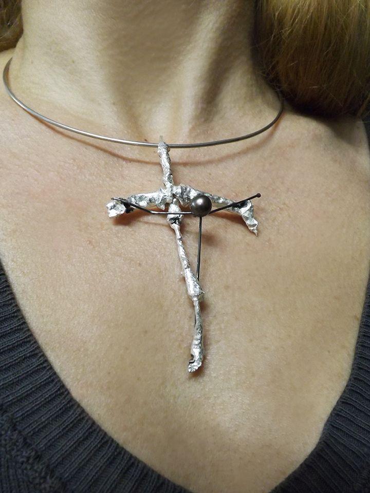 999 silver cross, by Bon Ton Joyaux