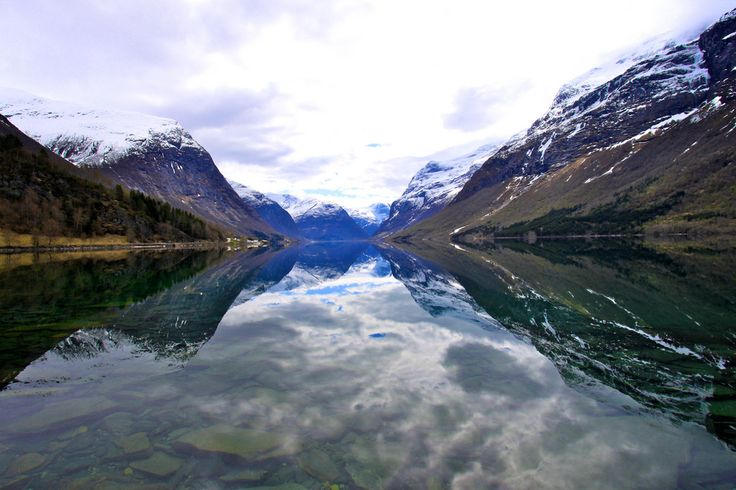 The beautiful, untamed nature and the valley's dramatic history make a visit to Lodalen an experience not to be missed