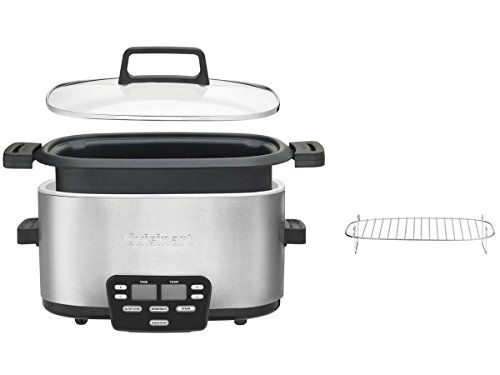 Cuisinart MSC-600 3-In-1 Cook Central 6-Quart Multi-Cooker: Slow Cooker, Brown/Saute, Steamer // http://cookersreview.us/product/cuisinart-msc-600-3-in-1-cook-central-6-quart-multi-cooker-slow-cooker-brownsaute-steamer/  #cooker #pressure #electric