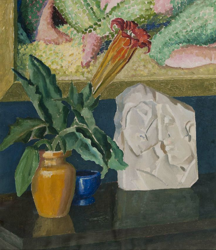 Still Life, 1931, Robert Nettleton Field, (b.1899, d.1987), purchased with a contribution by Friends of Hawke's Bay Cultural Trust, collection of Hawke's Bay Museums Trust, Ruawharo Tā-ū-rangi, 2009/158, reproduced with kind permission from the artist's family