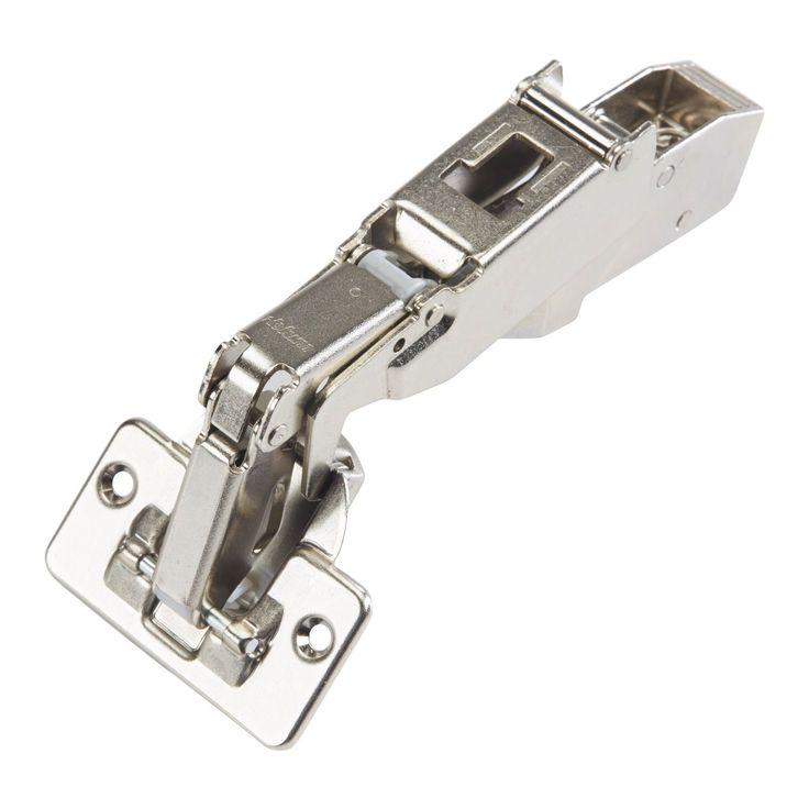 Blum Clip Plated Steel Top Half Crank Screw-on Self Closing Cabinet Hinge