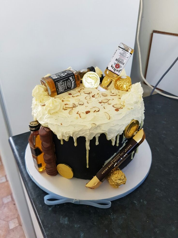 Birthday cake I made