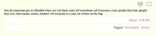 On swearing: | 47 Times Australians Nailed It On Tumblr In 2015
