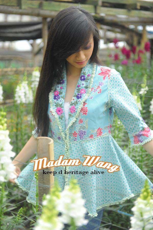 #batik blazer