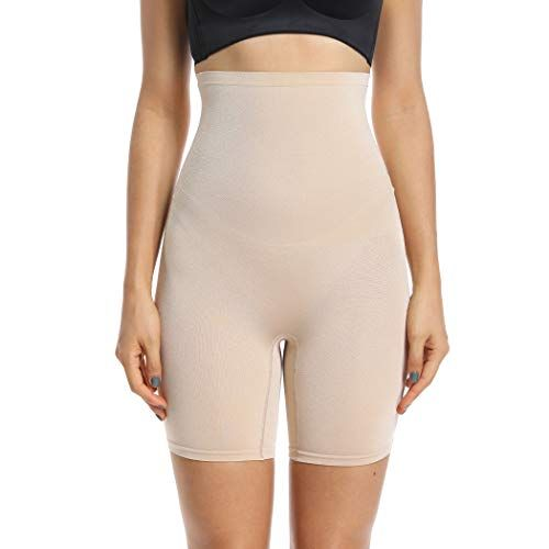33498502a9635 Joyshaper Thigh Slimmer Shapewear for Women High Waisted Tummy Control  Slimming Hip Enhancer Butt Lifter Knickers