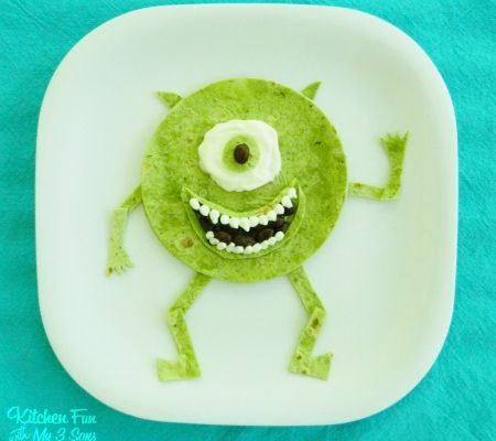 Monsters Inc. 9 Disney-Inspired Snacks for Kids | The Daily Meal