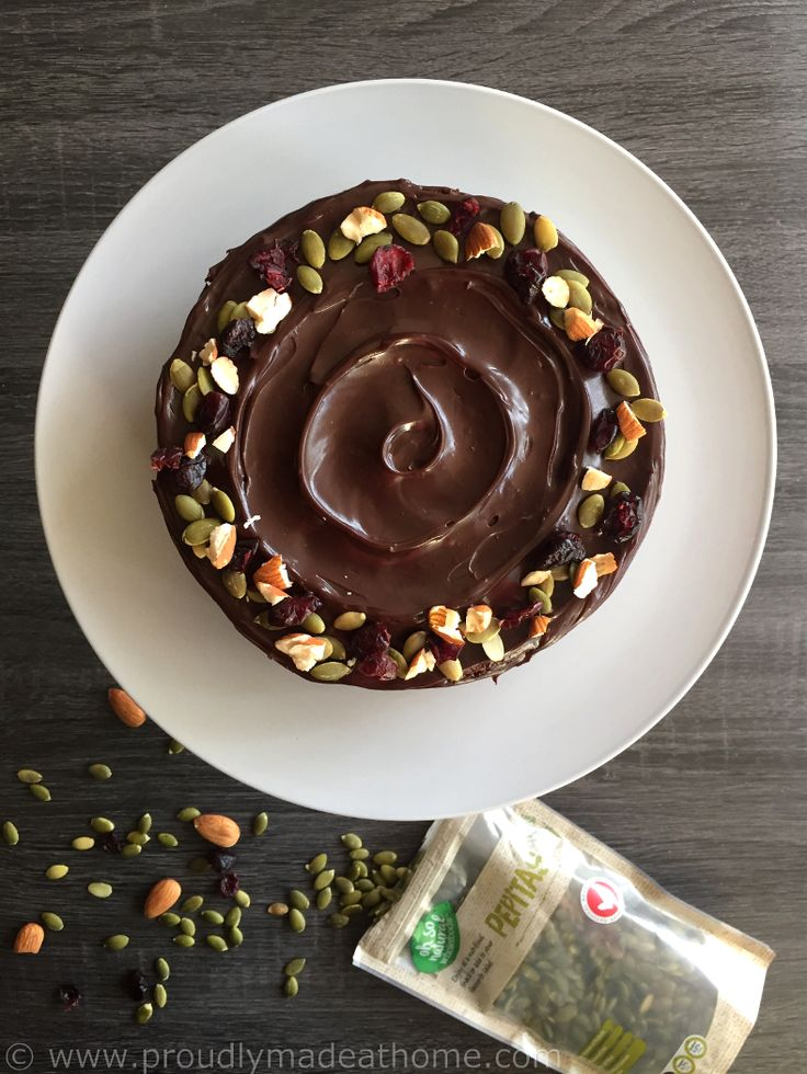 Pumpkin Cake, Dark chocolate frosting with a hint of orange! – proudlymadeathome