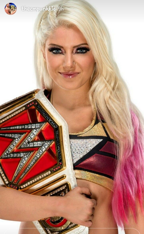 Raw Women's champion alixa