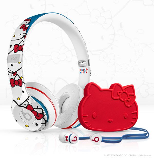 Hello Kitty meets Beats by Dre