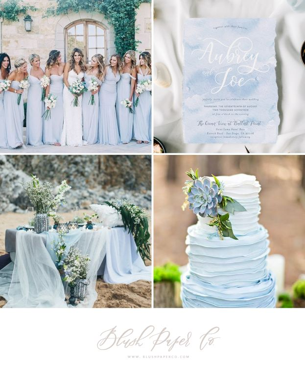 Best 25 dusty blue weddings ideas on pinterest dusty blue dusty blue wedding trends blush paper co junglespirit Images
