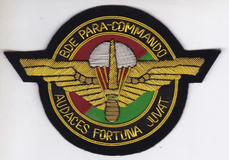 "Org Patch: "" Brigade "" Para-Commando Belgium"