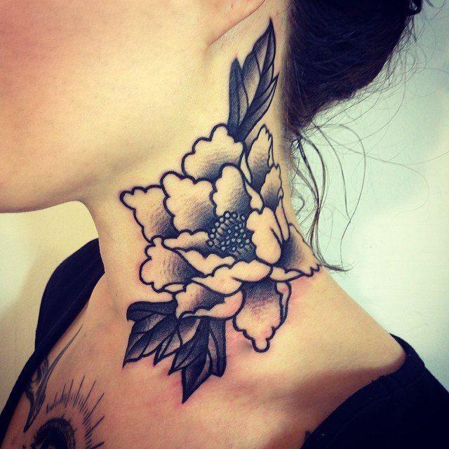 Татуировки на шее   518 фотографий