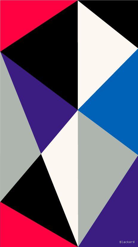 Geometric Box Wallpaper for IPhone Free by Rob Blackard