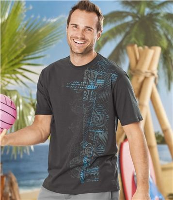 Lot de 2 Tee-Shirts Tuamotu #travel #voyage #atlasformen #formen #discount #shopping #ootd #outfit #formen #hommes #man #homme #men