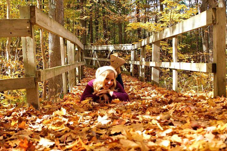 Autumn Photoshoot at Rock Glen Conservation Area in Arkona, Ontario, Canada