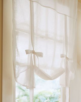 Swoon Style and Home: DIY Tutorial: Make Your Own No-Sew Drape Shade Curtains (like Pottery Barn!) I'd make some tweaks to get the look I want