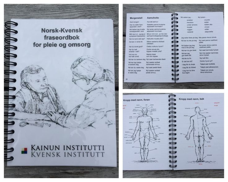 Kvensk Institutt: Norsk-Kvensk fraseordbok, Norja-Kveeni pieni fraasisanakirja. 2015