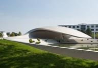 Porsche Pavilion in Wolfsburg, Germany / by HENN architekten