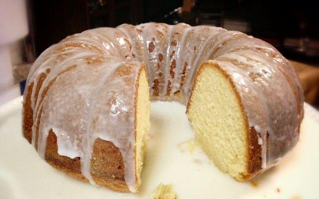 African American Lemon Pound Cake