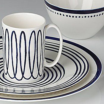 kate spade new york Charlotte Street West Dinnerware Place Setting by Lenox & 13 best Kate Spade Dinnerware images on Pinterest | Kate spade ...