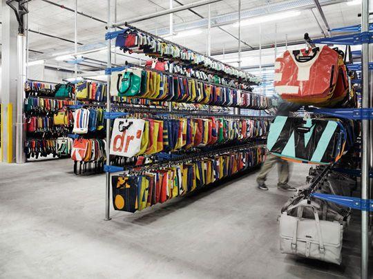 the new freitag factory (image courtesy: highsnobiety)