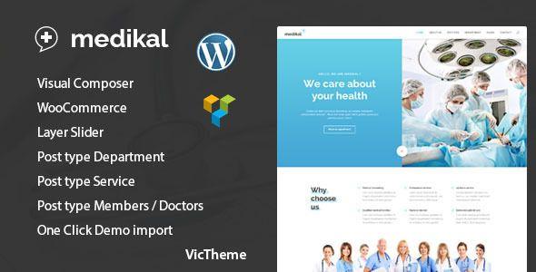 Medical Healthcare WordPress Theme