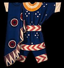 Leon Bakst, Costume for a brigand in Daphnis and Chloe, 1912 Russian Ballet Designer