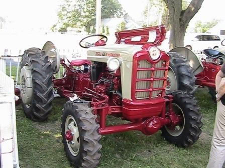 Ford Powermaster 4x4 Tractors Vintage Tractors Ford