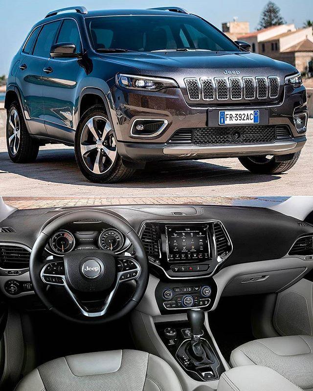Jeep Cherokee 2019 Suv Reestilizado Chega Ao Mercado Europeu No Velho Continentesera Equipado Com Um Motor Turbo Diesel Multijet Ii D Suv Cars Jeep Cars Jeep
