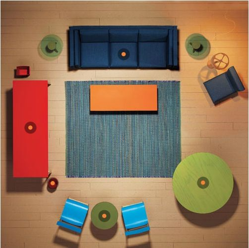 Tips For Rearranging Furniture At A Party. (Just Click The Orange Dots  Where Your
