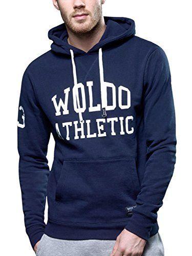 WOLDO Athletic Herren Hoodie Kapuzenpullover | Sweatshirt Laden