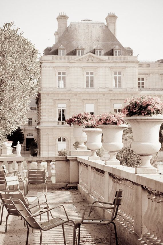 Le jardin de Luxembourg...