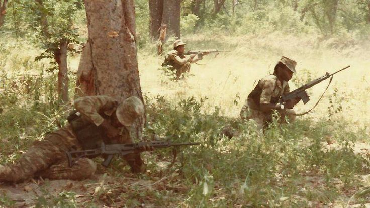 Koevoet in Rhodesian bush war