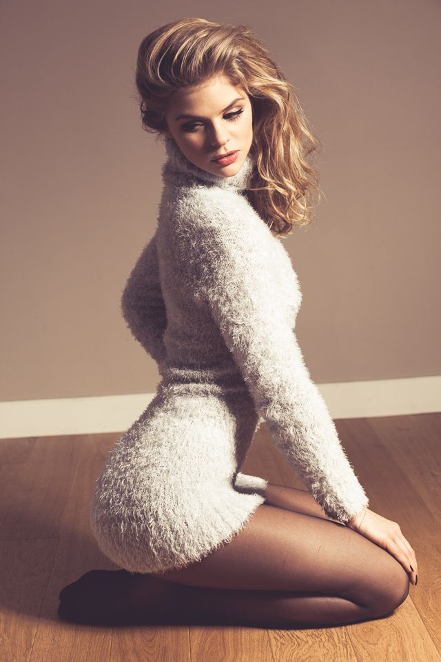 The answer Hot girls in sweaters and nylons agree, your