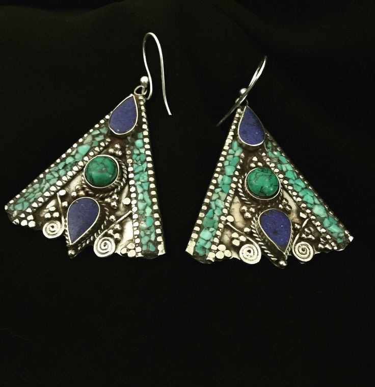 A personal favorite from my Etsy shop https://www.etsy.com/listing/291063587/tibetan-earrings-tibetan-jewelry-gypsy
