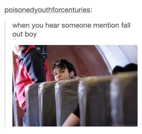 I heard some people talking about fob at the library   and yeah that's me