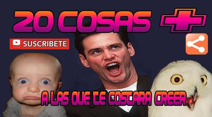 20 COSAS + A LAS QUE TE COSTARA CREER