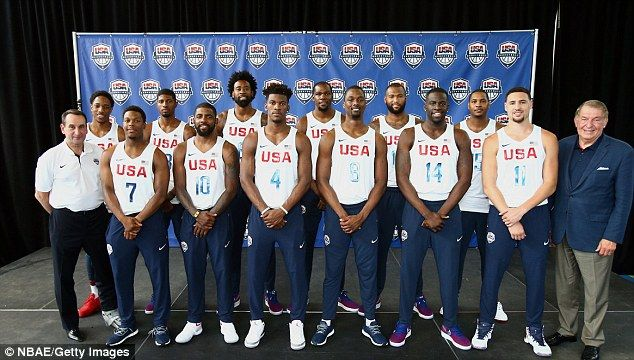 +usa olympic shooters team 2016 | ... among stars named in USA's Olympic basketball squad for Rio 2016 Games