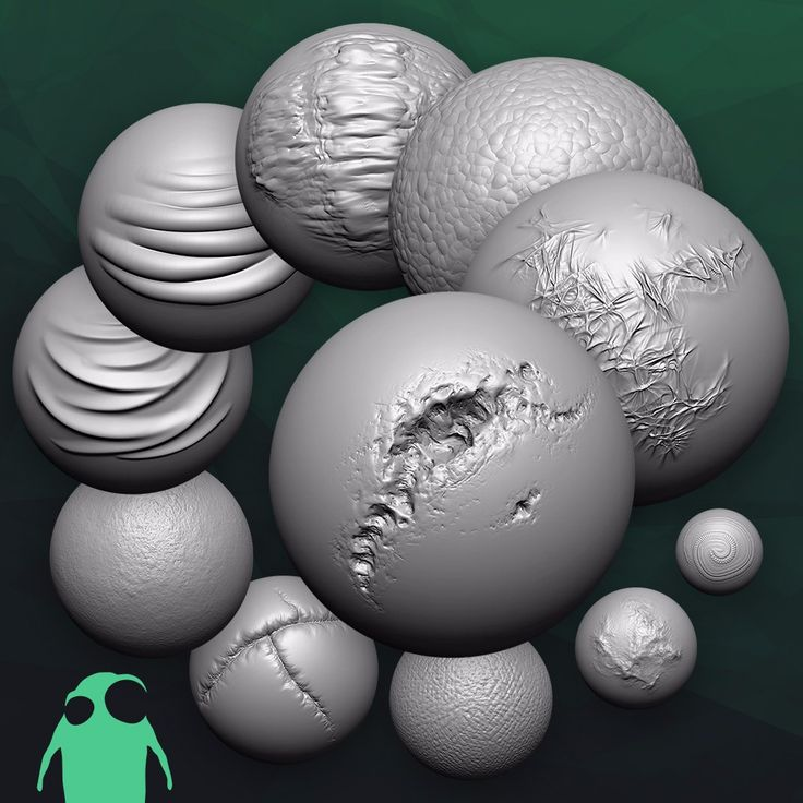 Custom Zbrush Brushes – Jerusalem House
