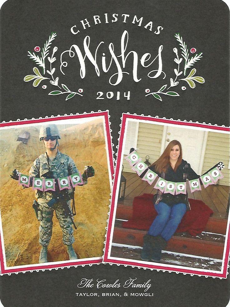 Deployment Christmas Card!! Deployed christmas card