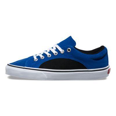 0fbfe76f36 2-Tone Suede Lampin 8FIMVU true blueblack  Vans