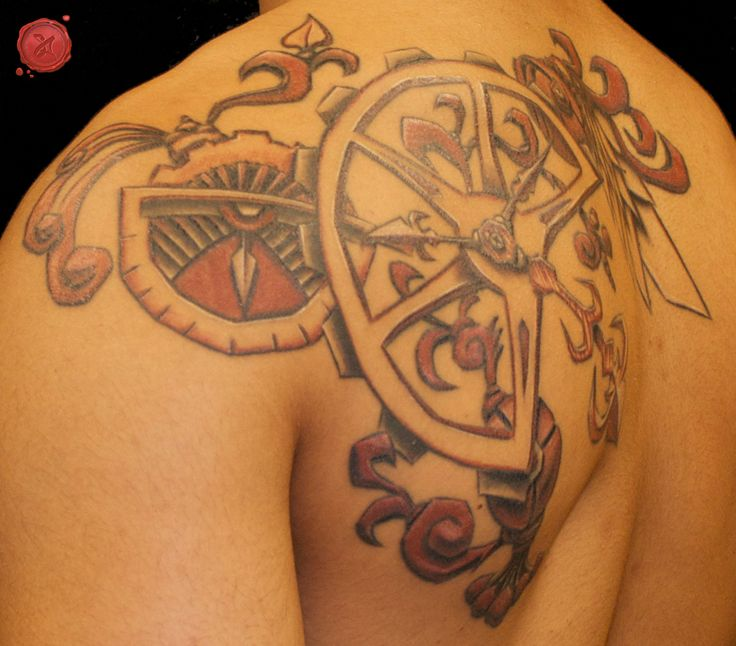 109 Best Custom Tattoos By Shane Acuff Images On Pinterest