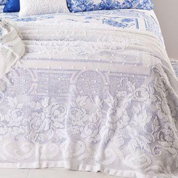 Mesh Bedspread by Zara Home