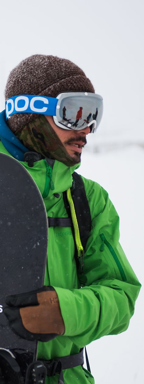 The Norrøna narvik dri3 jacket. This waterproof, breathable and durable shell jacket is designed for freestyle in the slopes or backcountry. Find it here at www.norrona.com