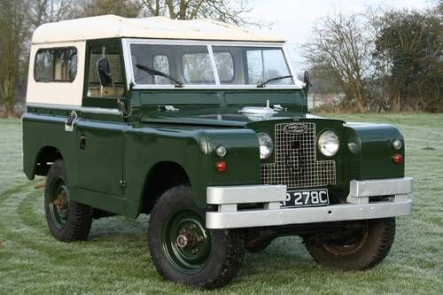 """Land River Series 2 88"""" Petrol Hard Top For Sale (1965)"""